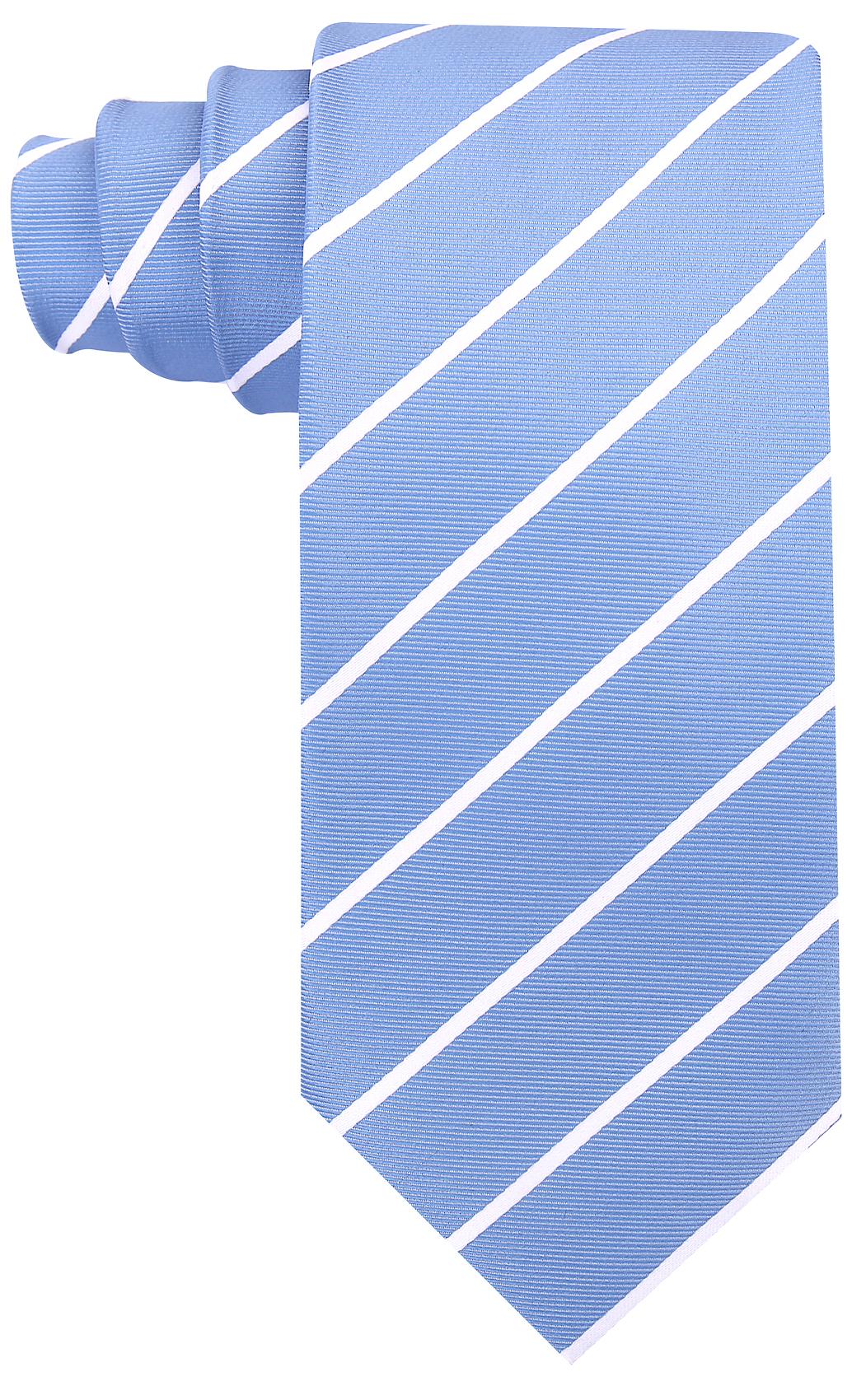 Scott-Allan-Mens-Necktie-Pencil-Striped-Mens-Tie thumbnail 43