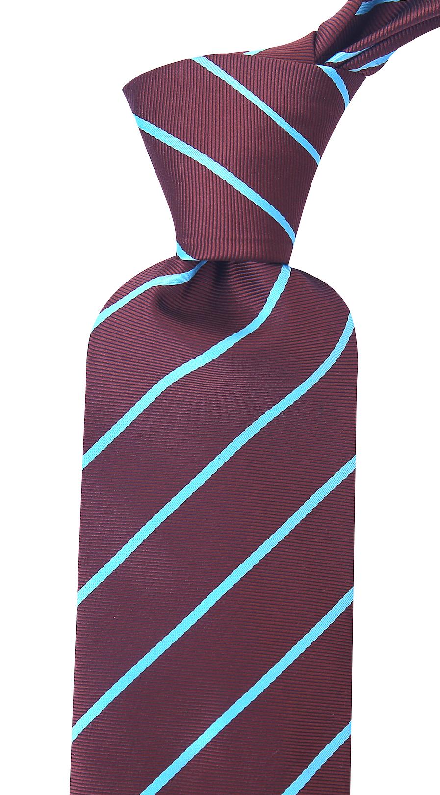 Scott-Allan-Mens-Necktie-Pencil-Striped-Mens-Tie thumbnail 17