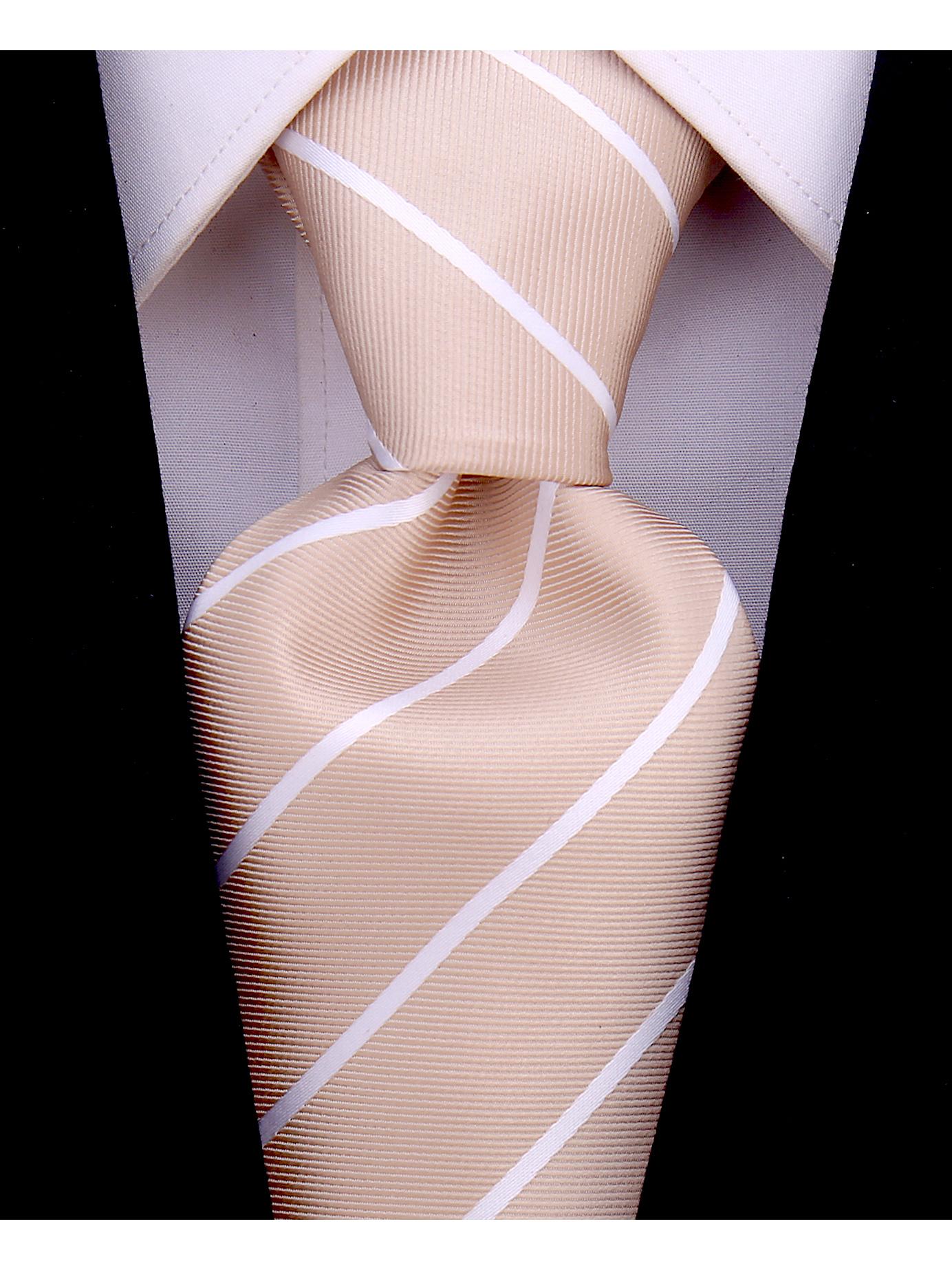 Scott-Allan-Mens-Necktie-Pencil-Striped-Mens-Tie thumbnail 4