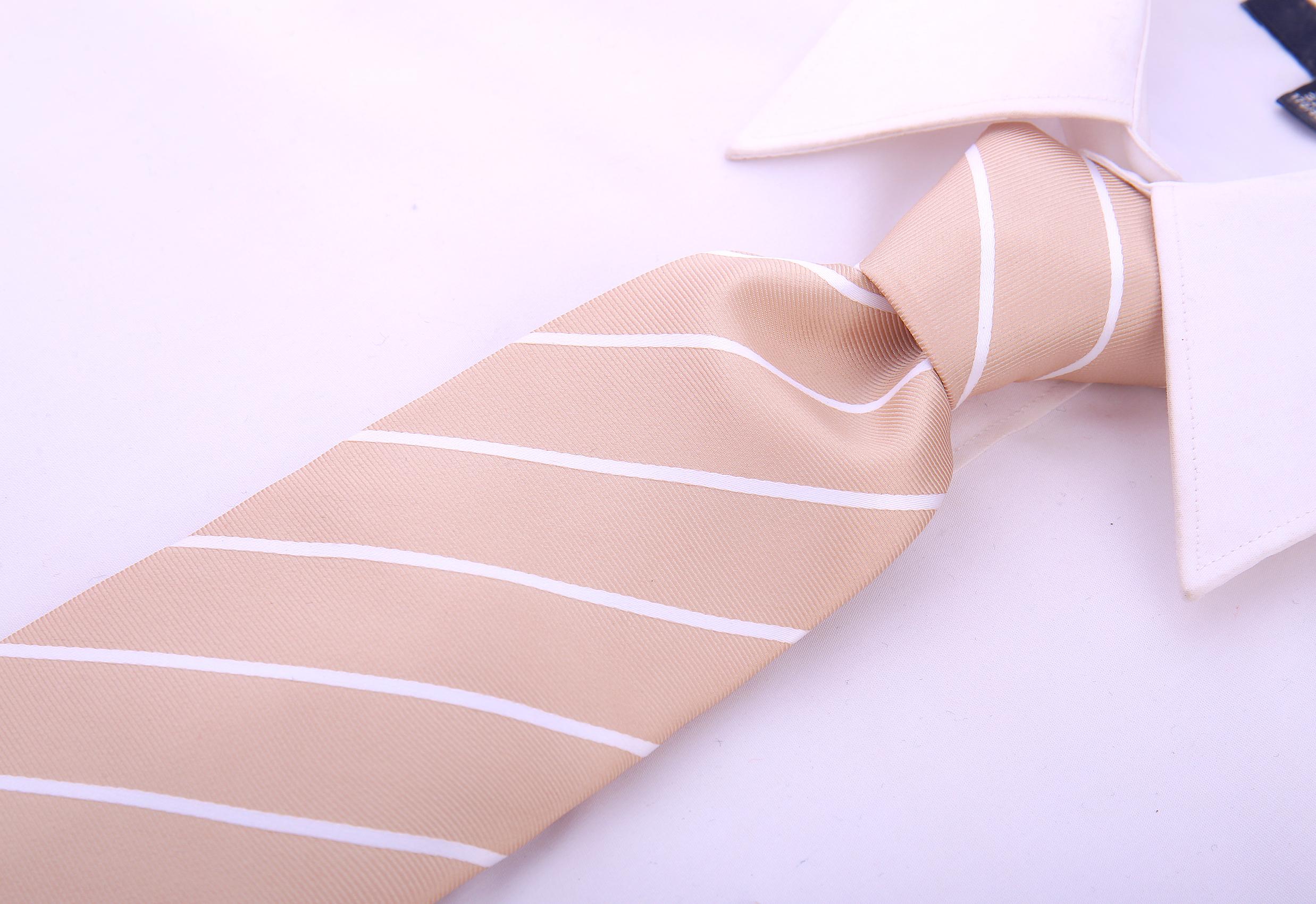 Scott-Allan-Mens-Necktie-Pencil-Striped-Mens-Tie thumbnail 7