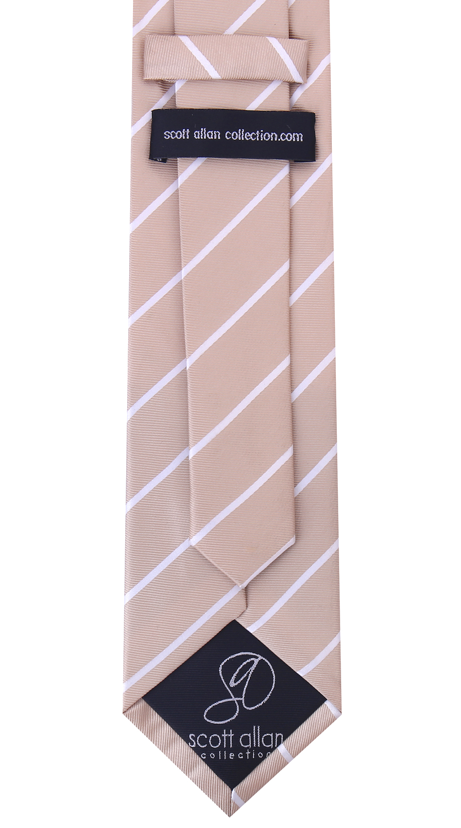 Scott-Allan-Mens-Necktie-Pencil-Striped-Mens-Tie thumbnail 8
