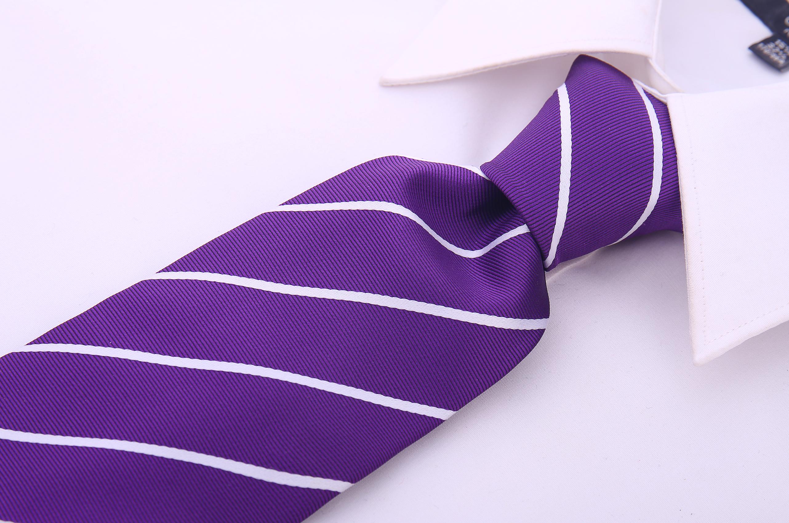 Scott-Allan-Mens-Necktie-Pencil-Striped-Mens-Tie thumbnail 38