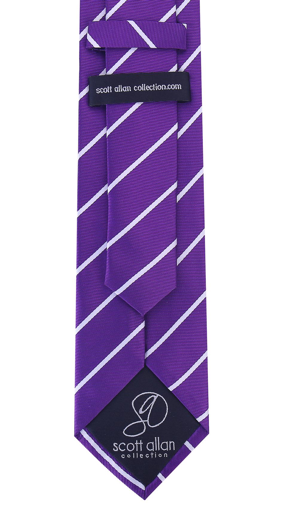 Scott-Allan-Mens-Necktie-Pencil-Striped-Mens-Tie thumbnail 39