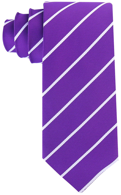 Scott-Allan-Mens-Necktie-Pencil-Striped-Mens-Tie thumbnail 36