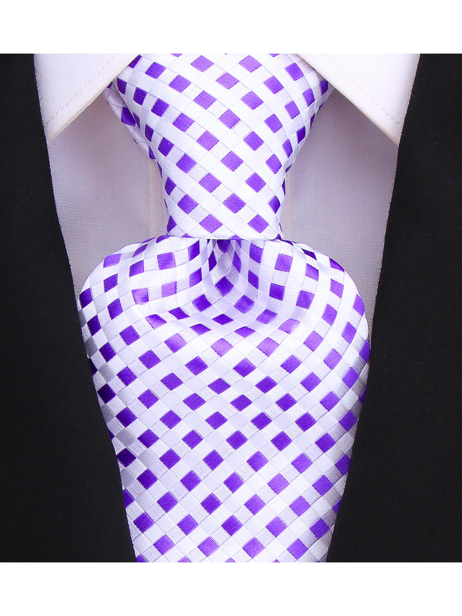 Scott-Allan-Mens-Checkerboard-Necktie-Mens-Tie thumbnail 12