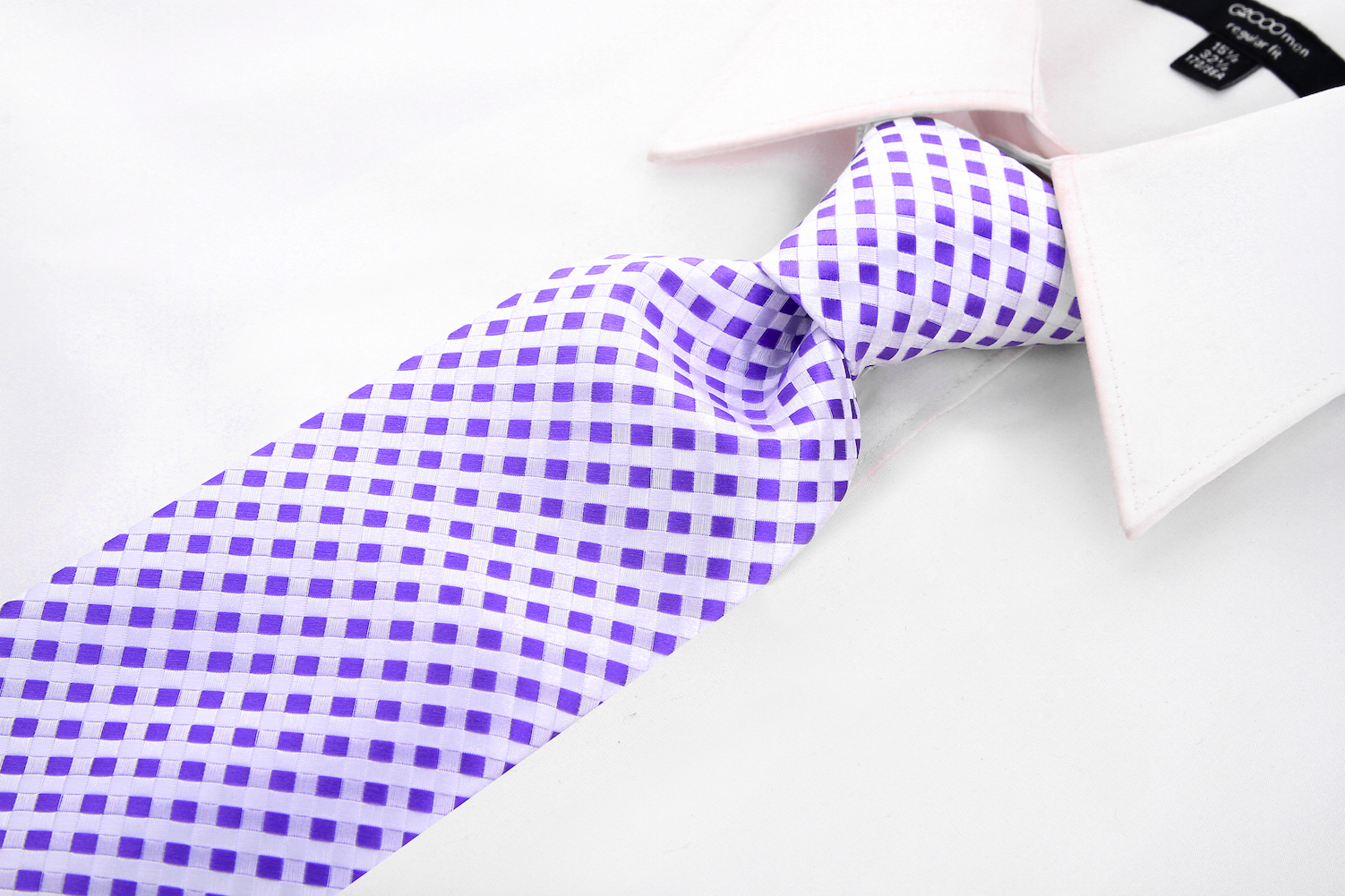 Scott-Allan-Mens-Checkerboard-Necktie-Mens-Tie thumbnail 15