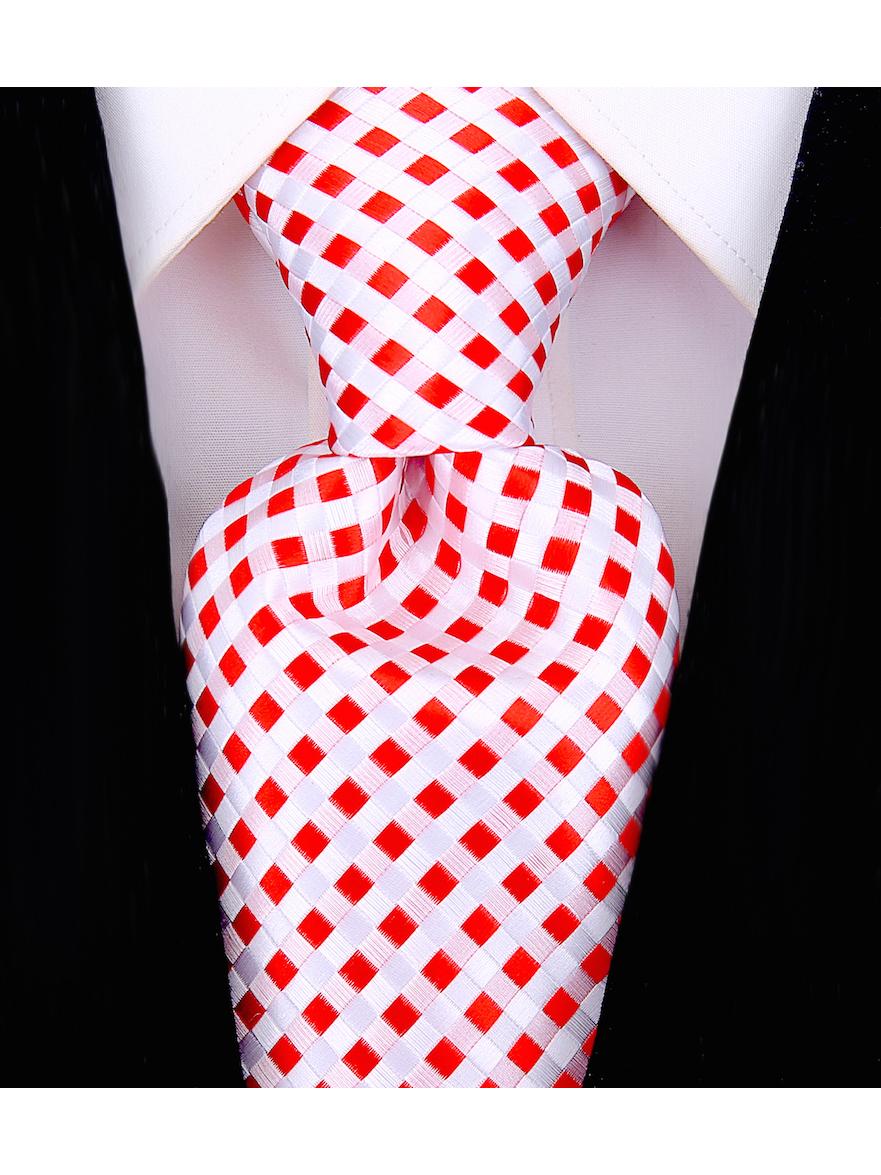 Scott-Allan-Mens-Checkerboard-Necktie-Mens-Tie thumbnail 18
