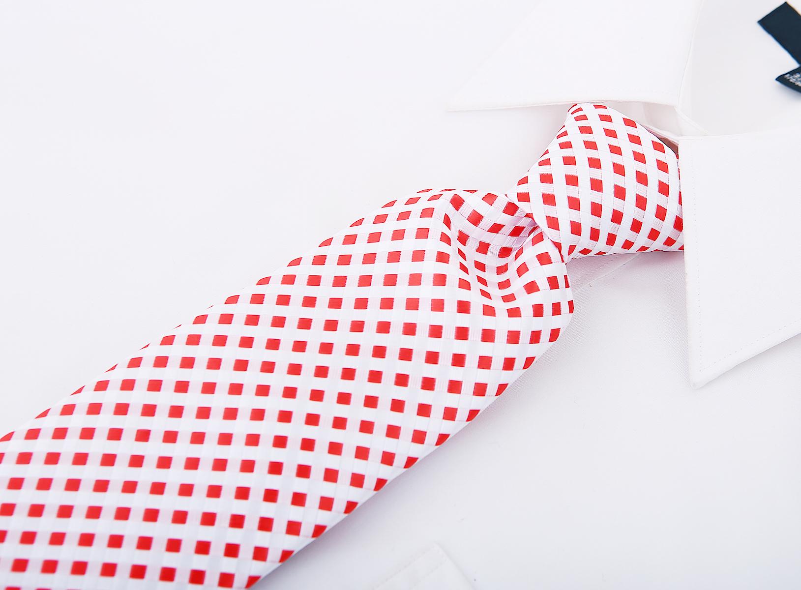 Scott-Allan-Mens-Checkerboard-Necktie-Mens-Tie thumbnail 21