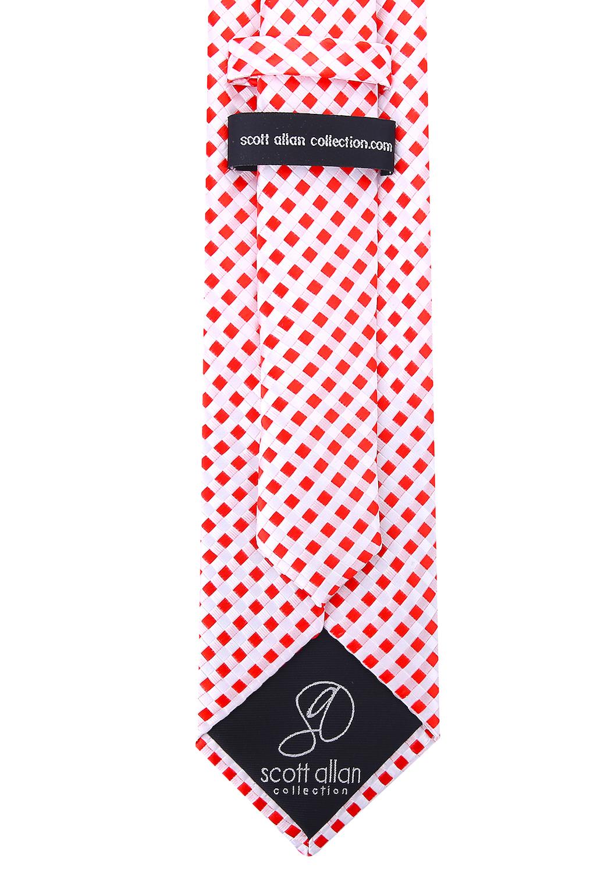 Scott-Allan-Mens-Checkerboard-Necktie-Mens-Tie thumbnail 22