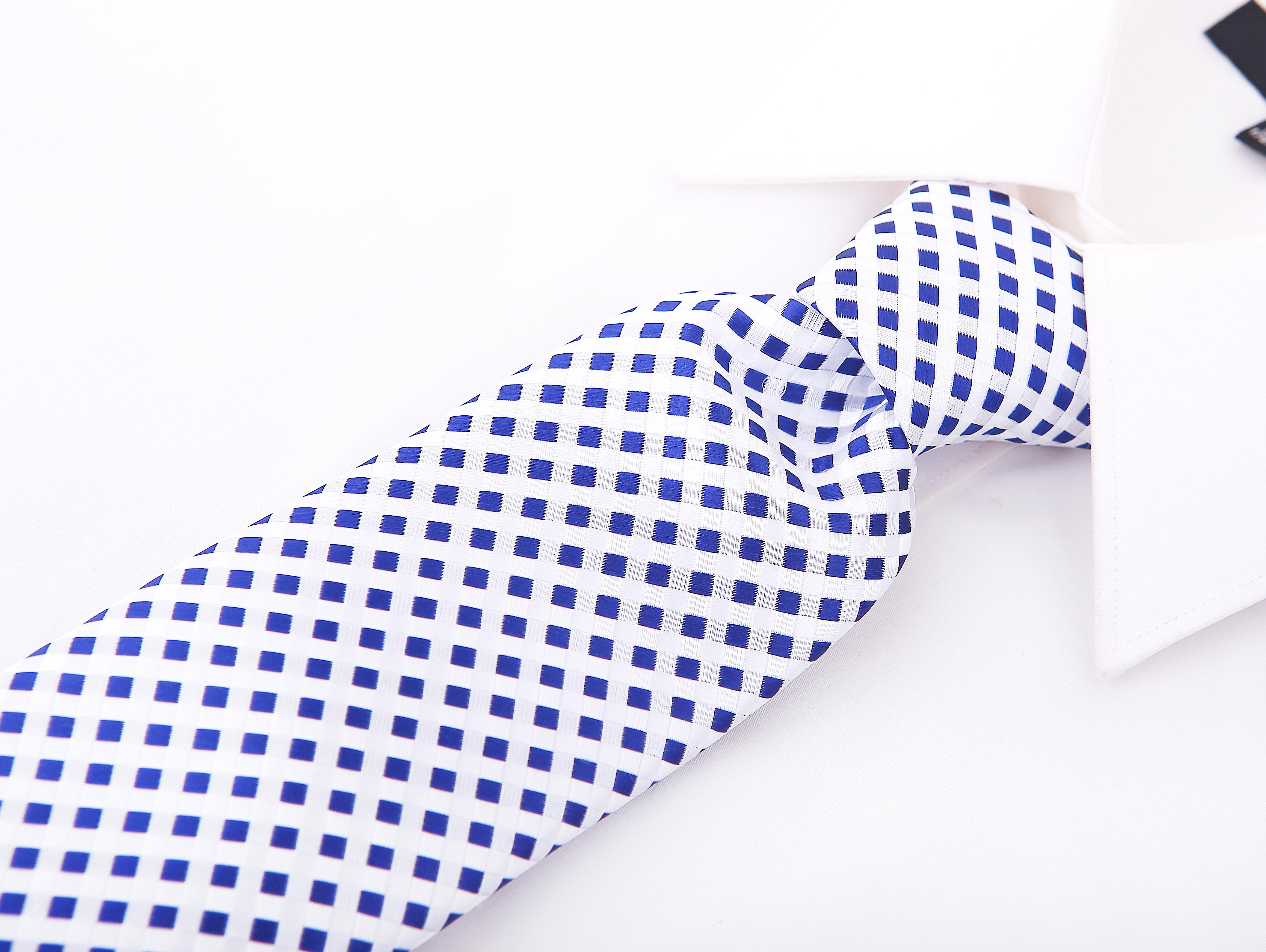 Scott-Allan-Mens-Checkerboard-Necktie-Mens-Tie thumbnail 9