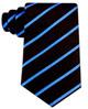 Scott-Allan-Mens-Necktie-Pencil-Striped-Mens-Tie thumbnail 14
