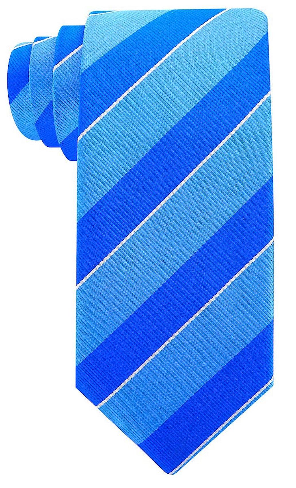 Scott-Allan-Mens-College-Striped-Necktie thumbnail 7