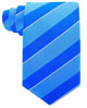 Scott-Allan-Mens-College-Striped-Necktie thumbnail 10