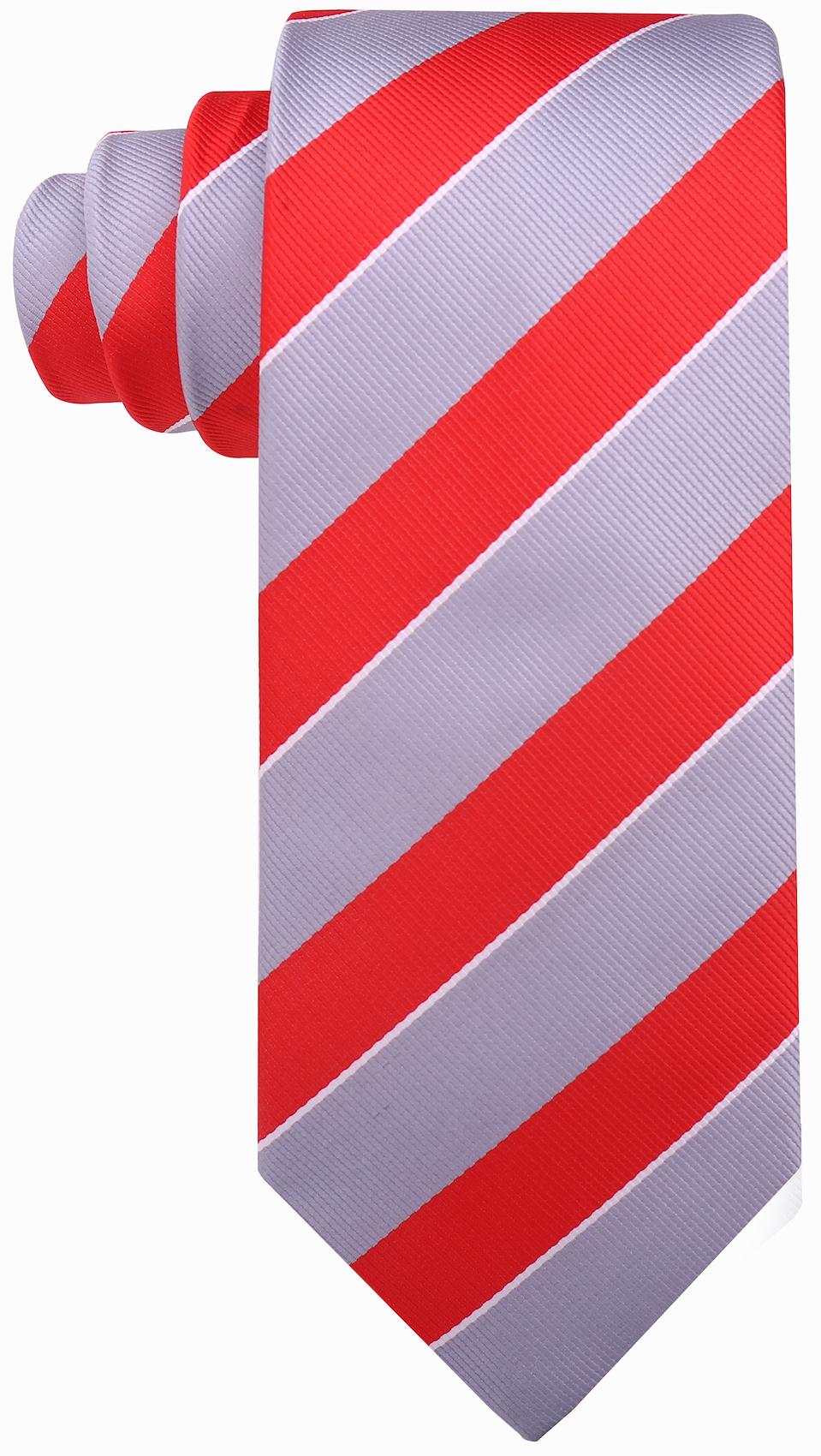 Scott-Allan-Mens-College-Striped-Necktie thumbnail 21