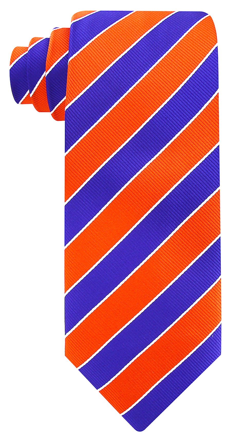 Scott-Allan-Mens-College-Striped-Necktie thumbnail 31