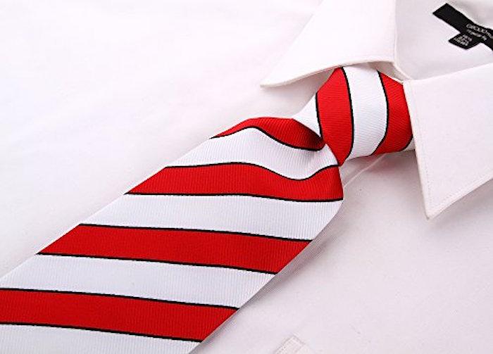 Scott-Allan-Mens-College-Striped-Necktie thumbnail 14