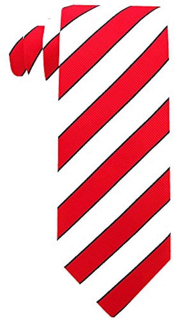 Scott-Allan-Mens-College-Striped-Necktie thumbnail 12