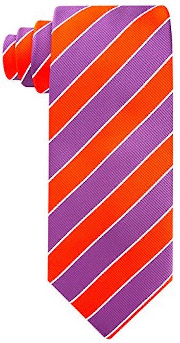 Scott-Allan-Mens-College-Striped-Necktie thumbnail 25