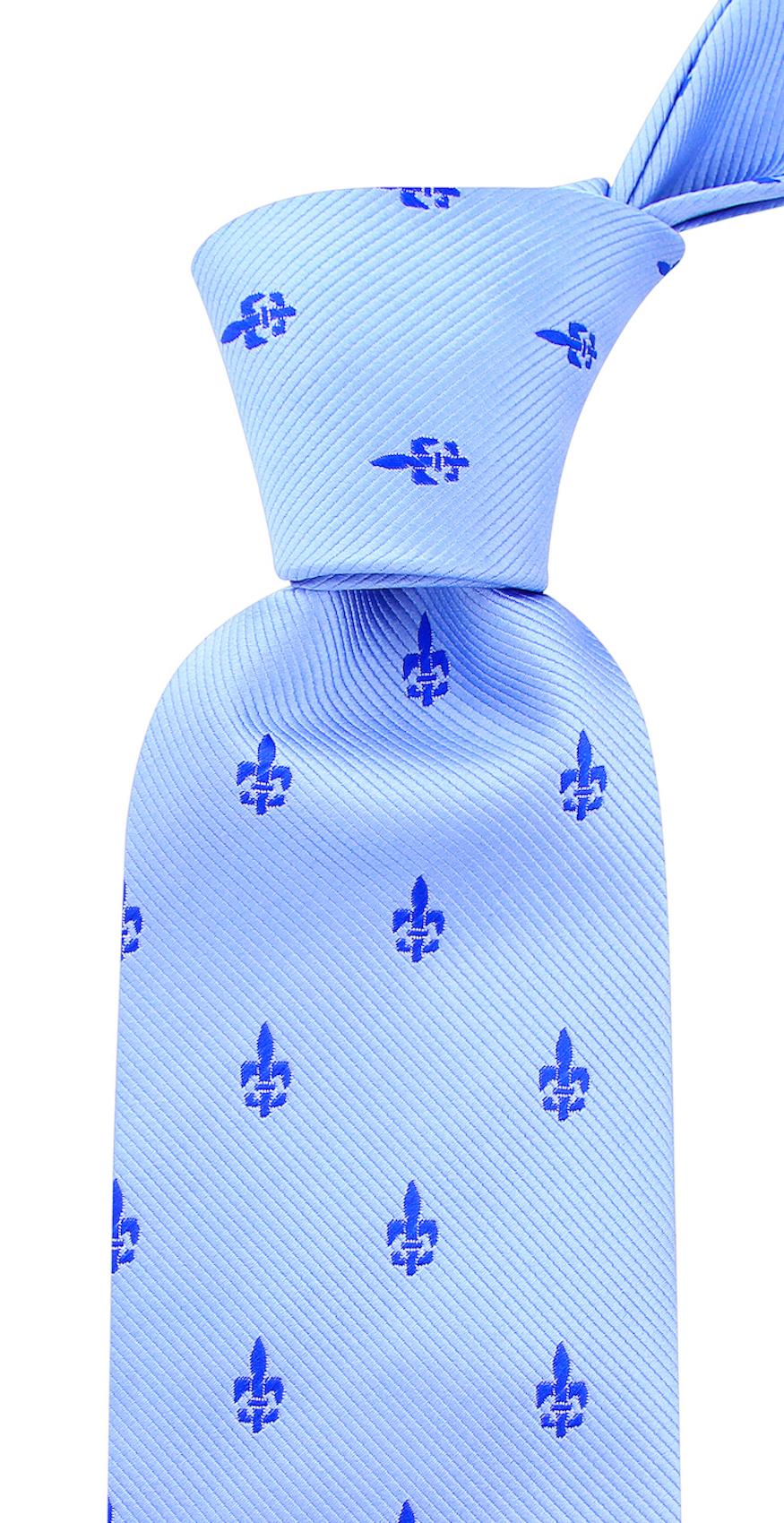Scott-Allan-Mens-Fleur-De-Lis-Necktie thumbnail 13