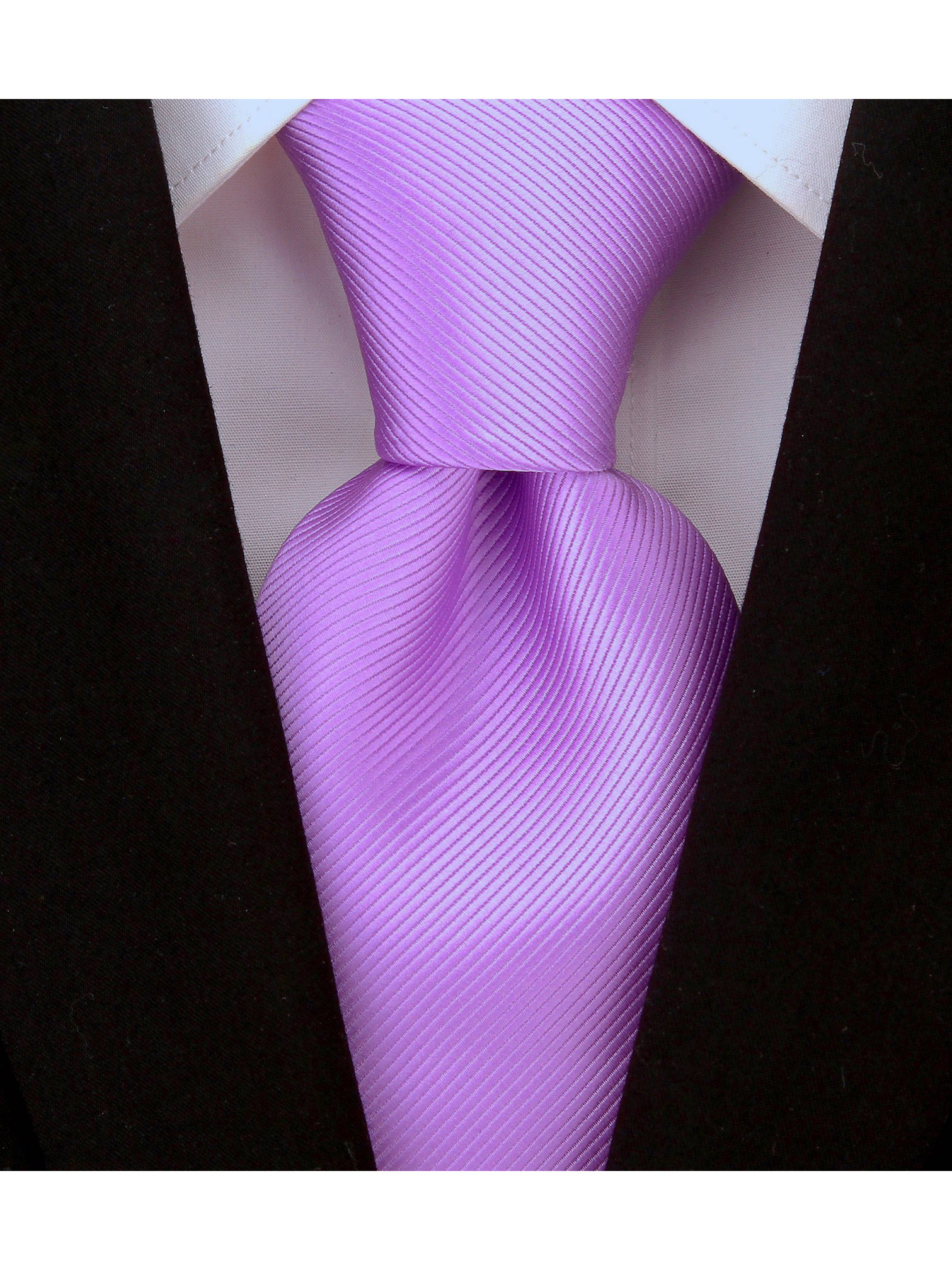 Scott-Allan-Mens-Twill-Striped-Necktie thumbnail 20