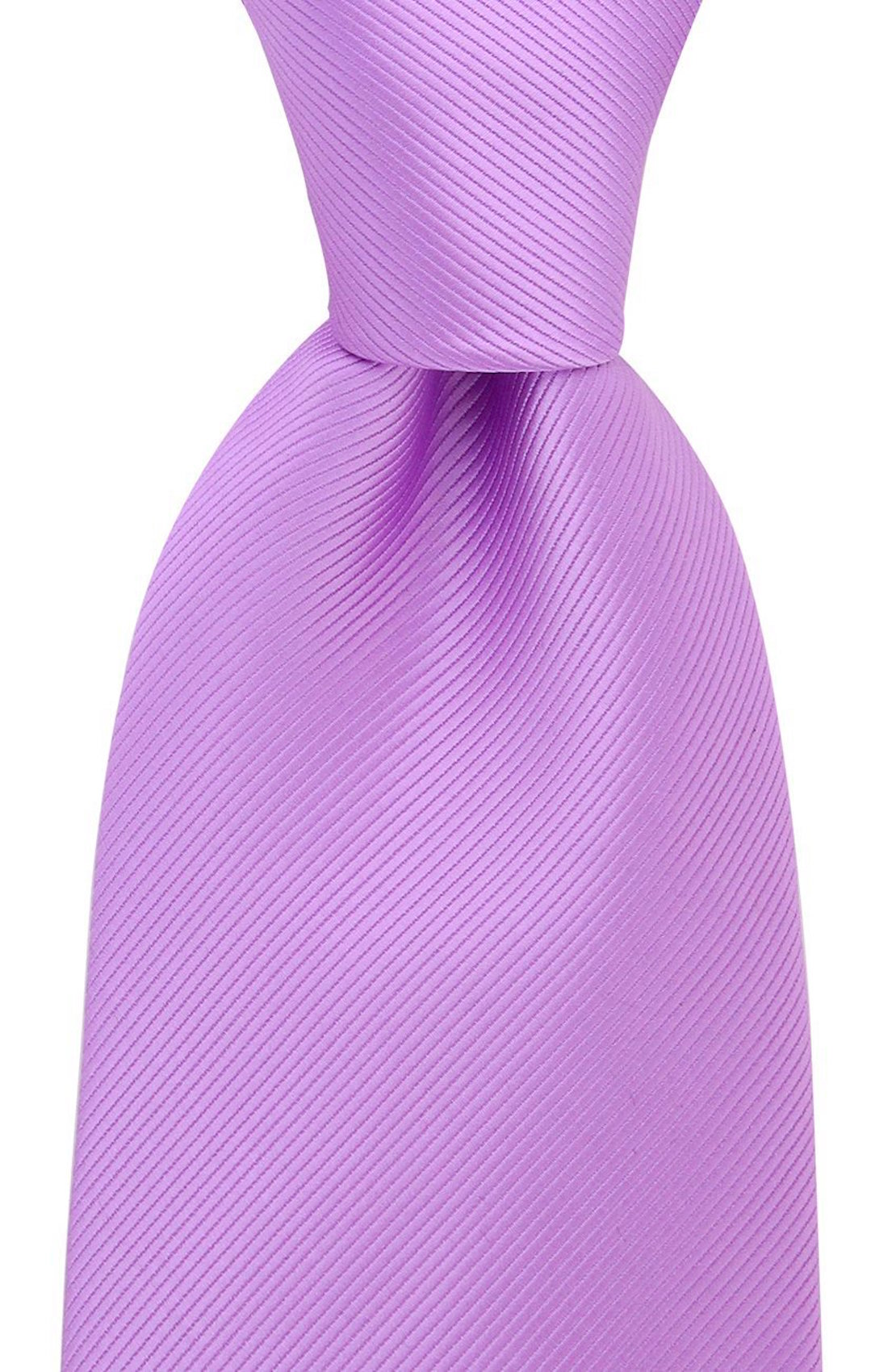 Scott-Allan-Mens-Twill-Striped-Necktie thumbnail 22
