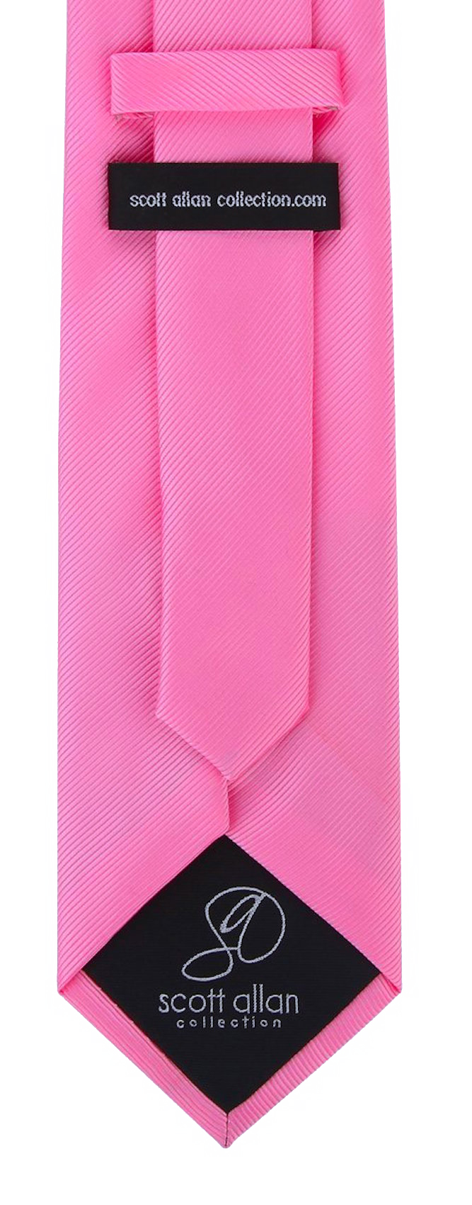 Scott-Allan-Mens-Twill-Striped-Necktie thumbnail 18