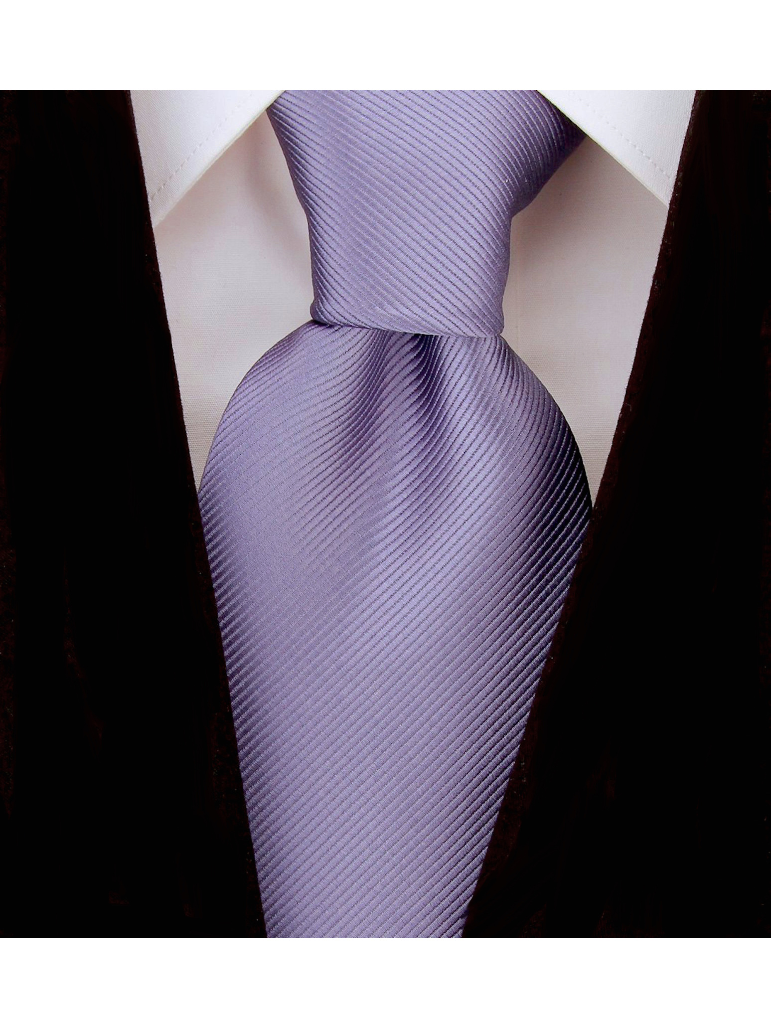Scott-Allan-Mens-Twill-Striped-Necktie thumbnail 9