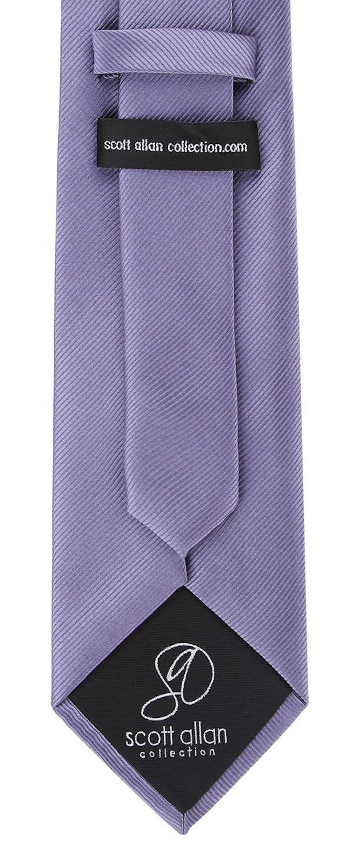 Scott-Allan-Mens-Twill-Striped-Necktie thumbnail 13