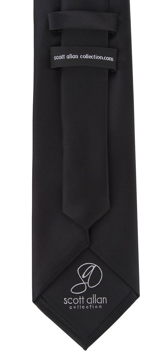 Scott-Allan-Mens-Twill-Striped-Necktie thumbnail 7