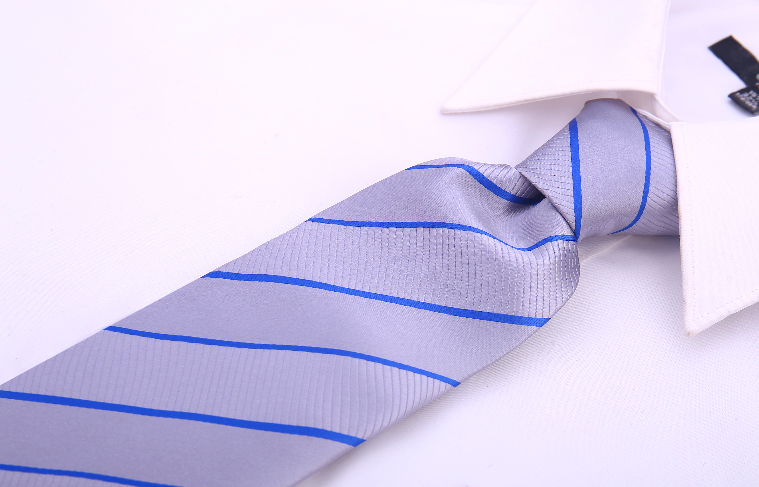 Scott-Allan-Mens-Striped-Necktie thumbnail 8