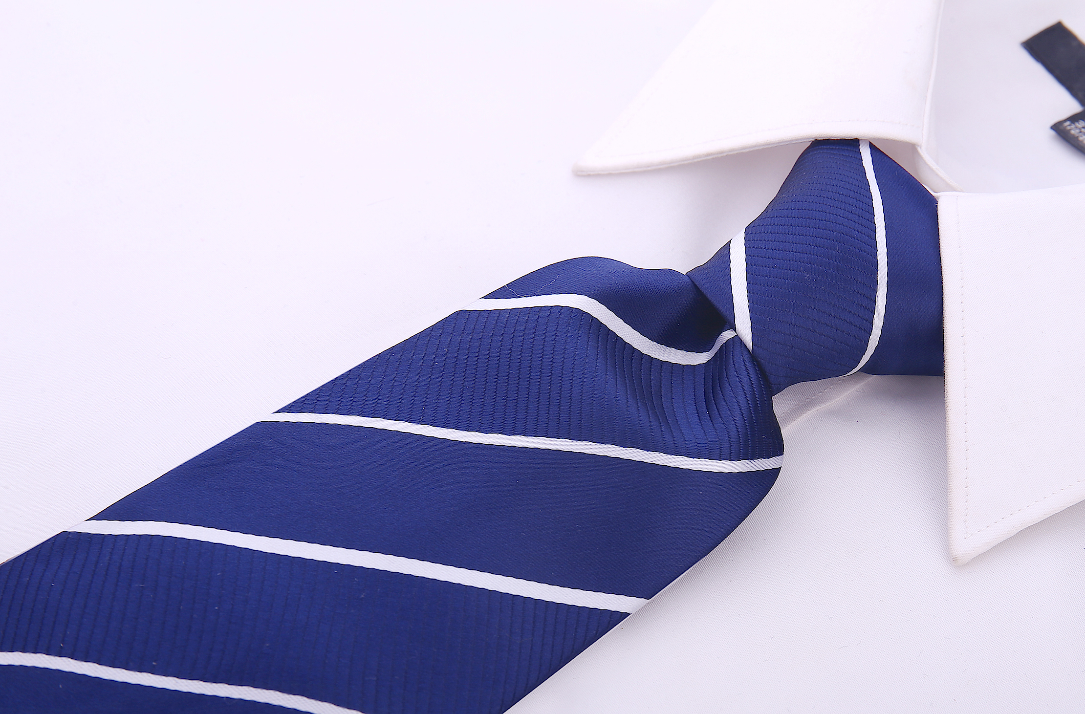 Scott-Allan-Mens-Striped-Necktie thumbnail 14