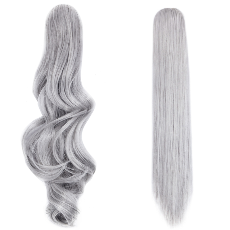 Popular Jaw Claw Ponytail Clip In Hair Extensions The Fashion Choise