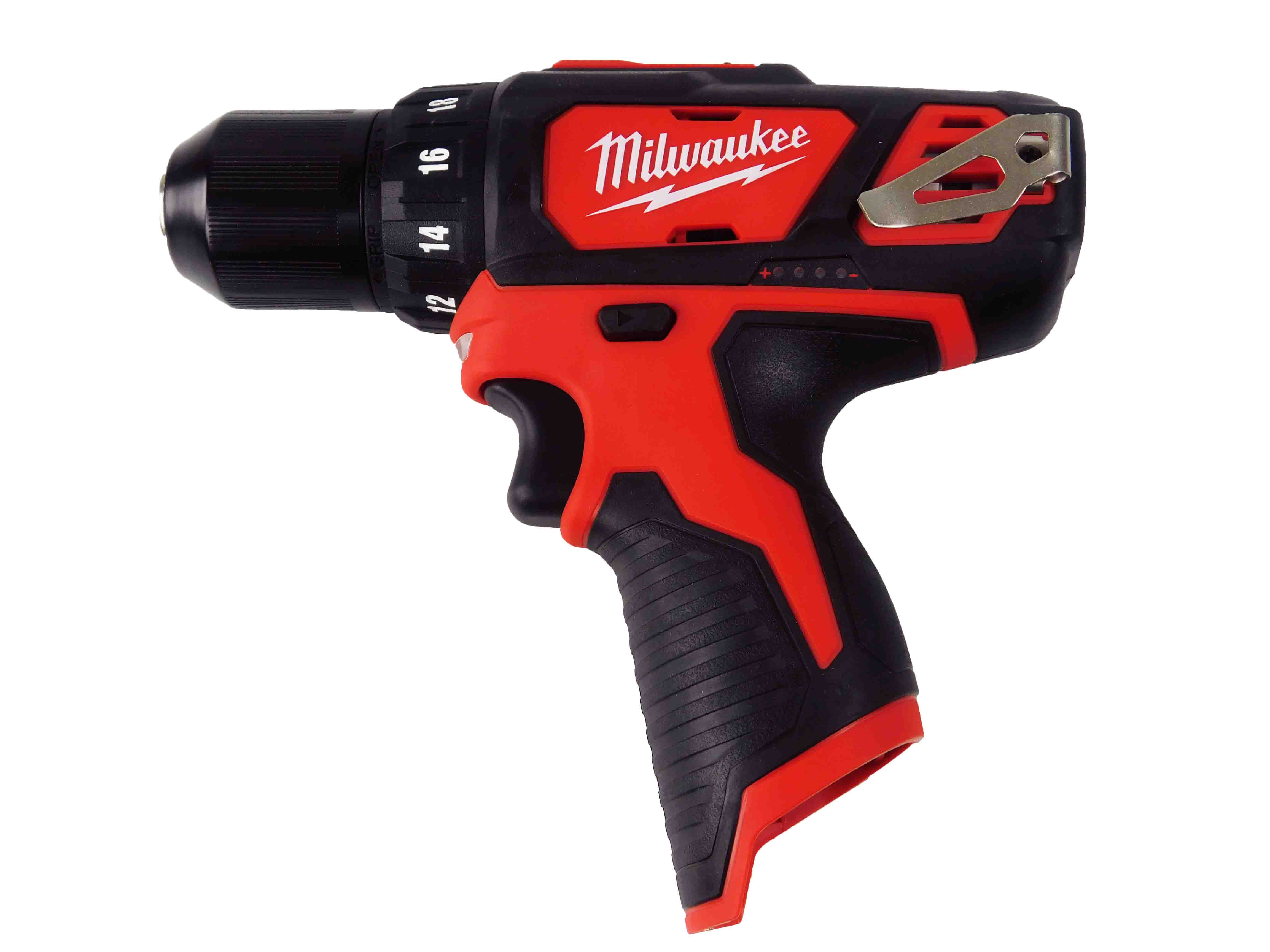 "Milwaukee 2407-20 12V M12 3/8"" Cordless Drill, Tool Only"