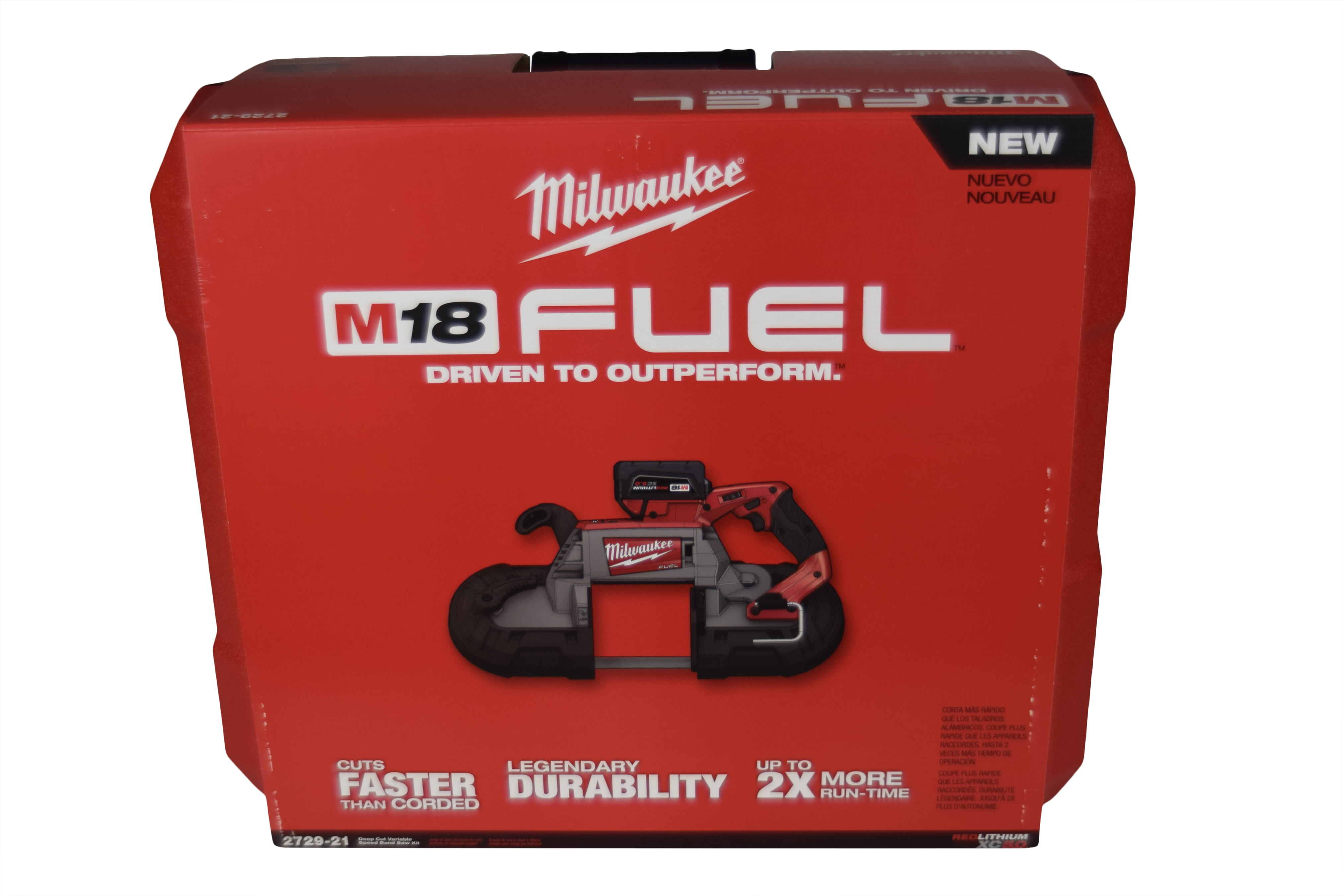 Milwaukee 2729-21 M18 FUEL 18V Lithium-Ion Brushless Cordless Deep Cut Band  Saw