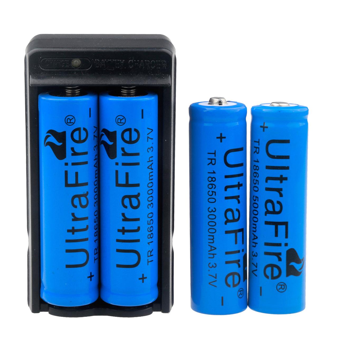 ultrafire 3 7v 2400mah 18650 battery w charger ebay. Black Bedroom Furniture Sets. Home Design Ideas