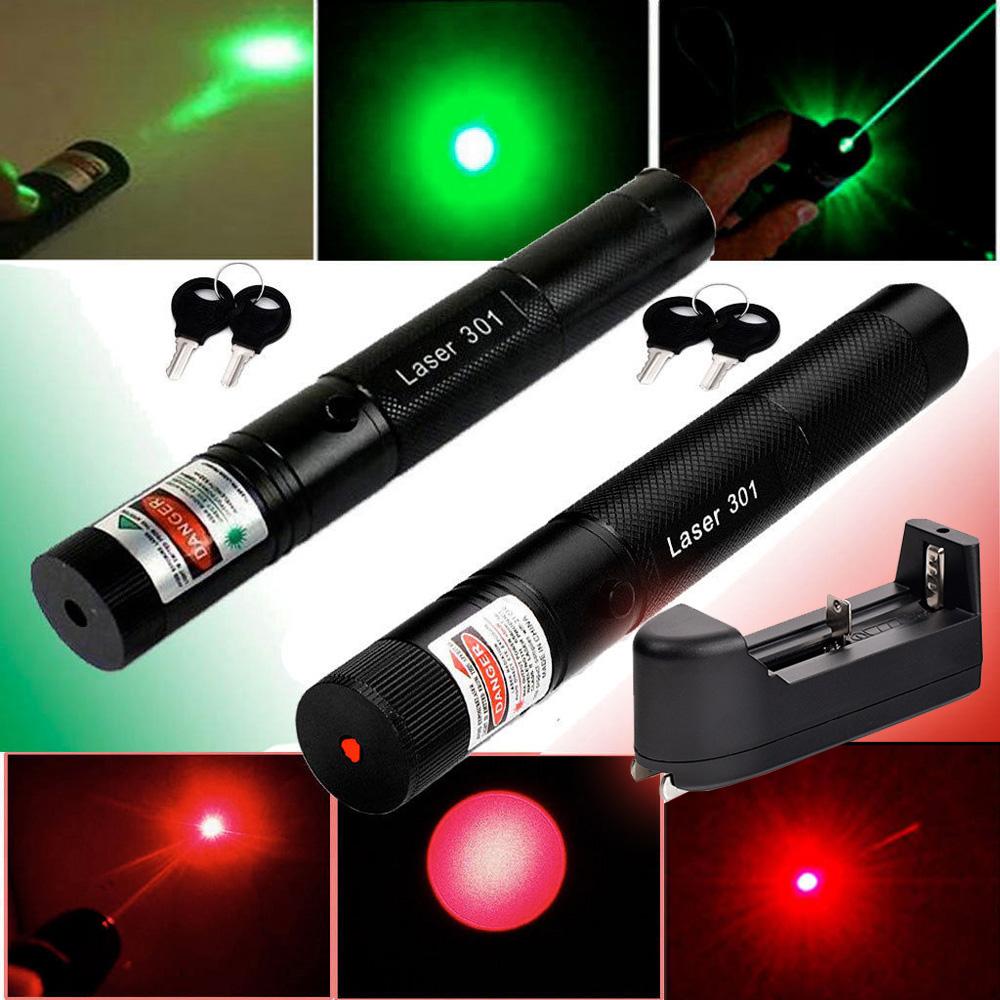 10Miles Range 1mw Green&Red Light Adjustable Laser Pointer Lazer Pen New