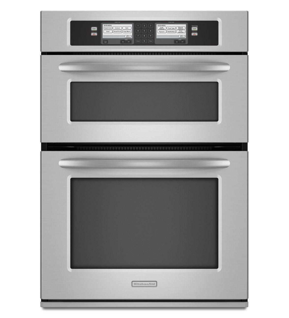 Perfect KitchenAid   KEHU309SSS   Combo Wall Oven