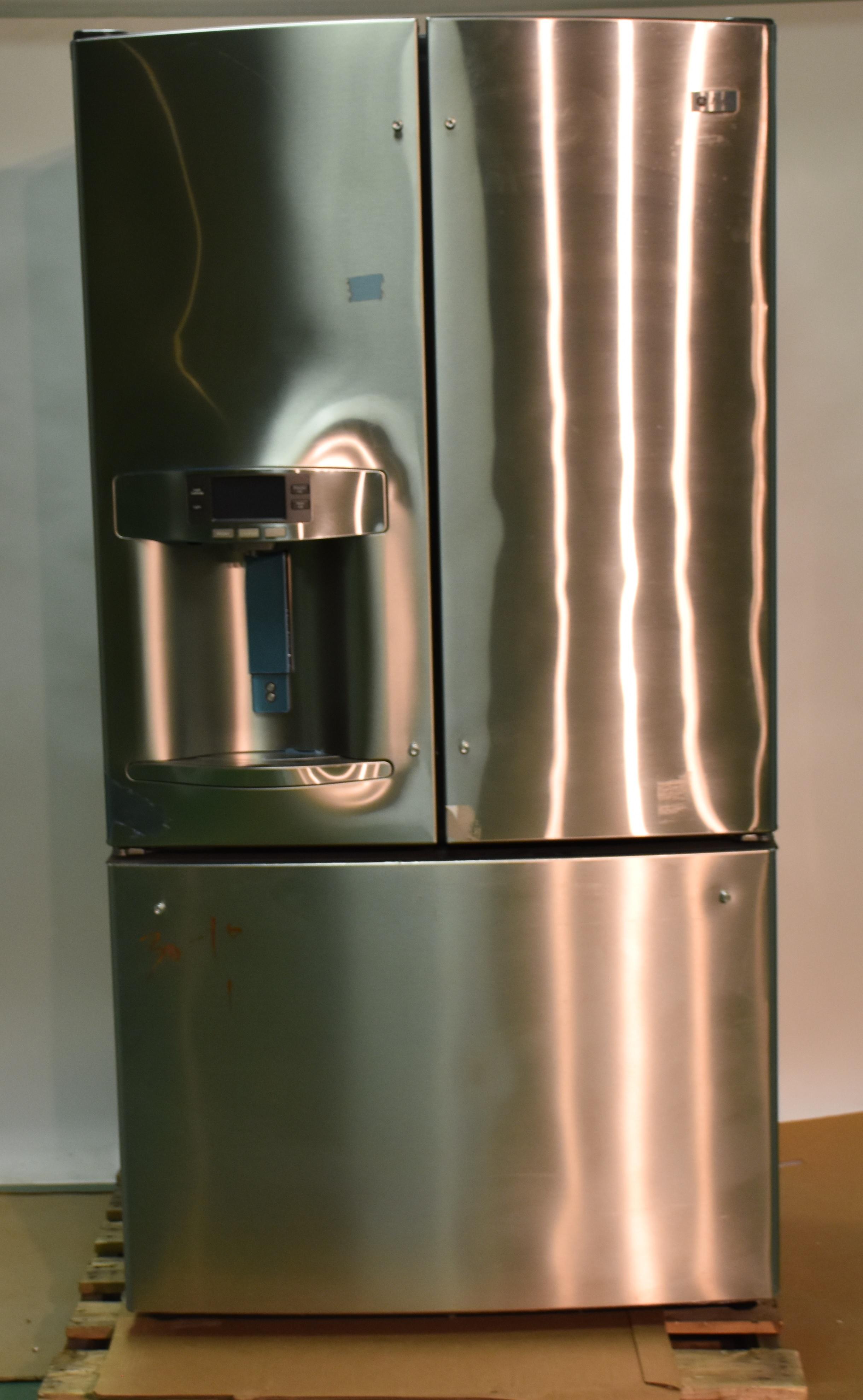 Ge French Door Refrigerator Pfe29psdss Ebay