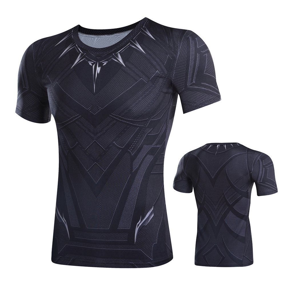 marvel superheld sports t shirt lanrarm kuzarm hose. Black Bedroom Furniture Sets. Home Design Ideas