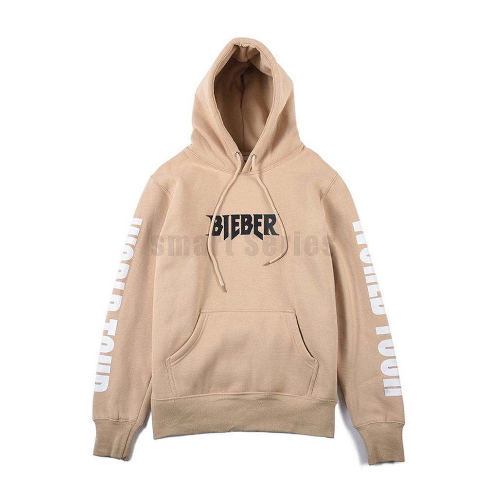 apricot hoodie purpose tour justin bieber sweatshirts cap. Black Bedroom Furniture Sets. Home Design Ideas