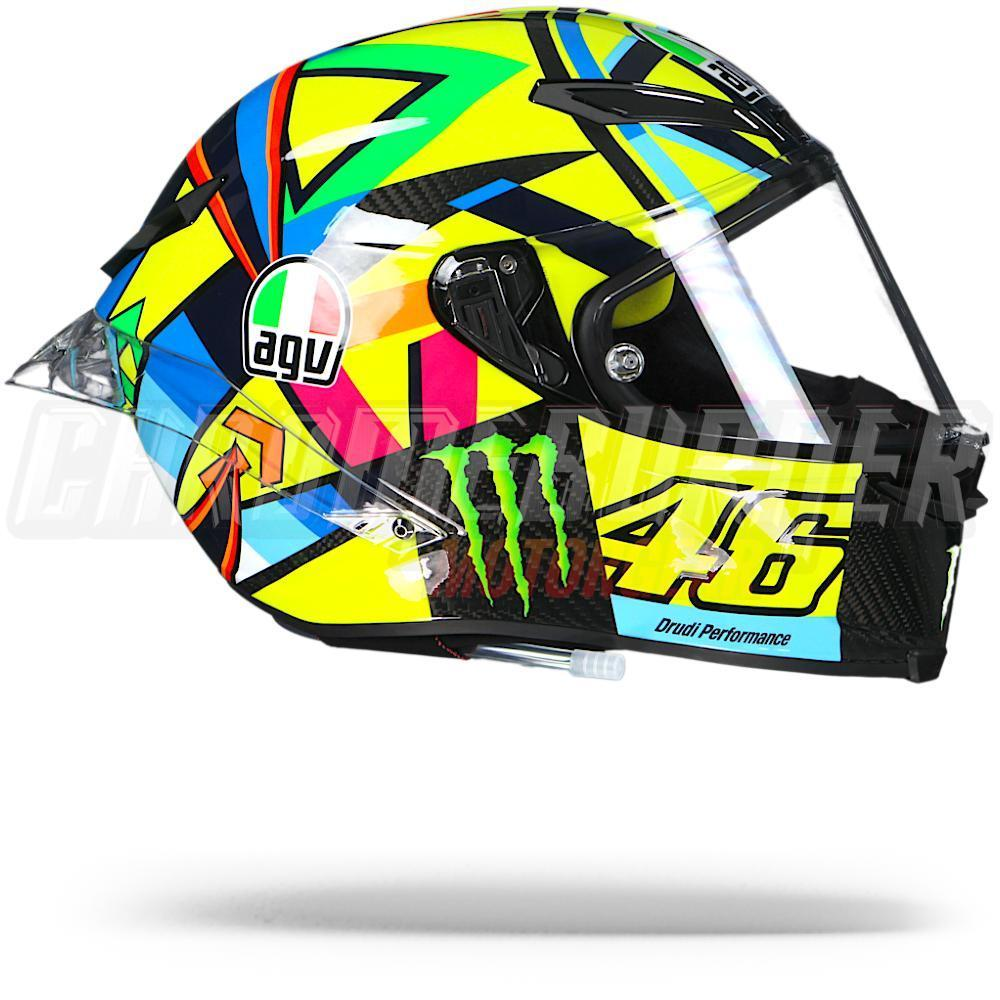 agv pista gp r soleluna 2016 valentino rossi vr46 helmet. Black Bedroom Furniture Sets. Home Design Ideas