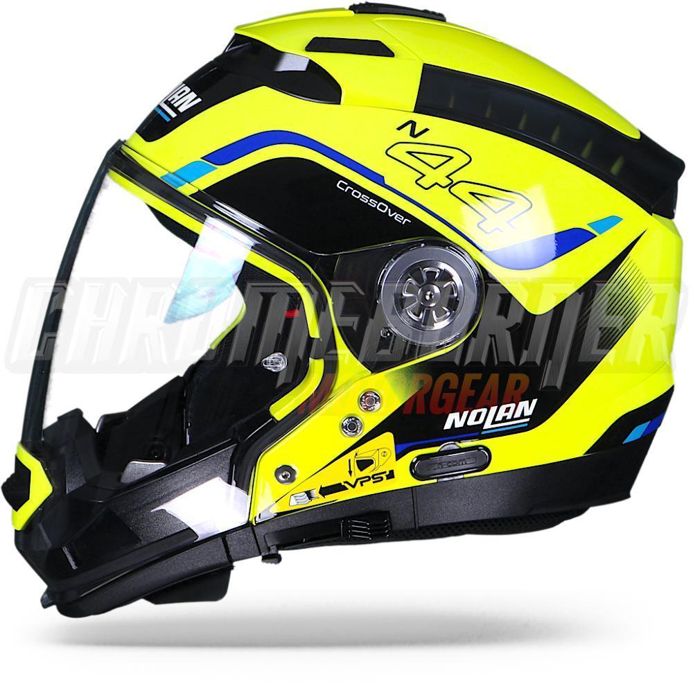nolan n44 evo viewpoint n com 051 modular motorcycle helmet new ebay. Black Bedroom Furniture Sets. Home Design Ideas