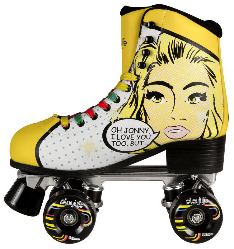 Powerslide Uk: Powerslide Quad Roller Skates Blondie Skates (Moxi, SFR