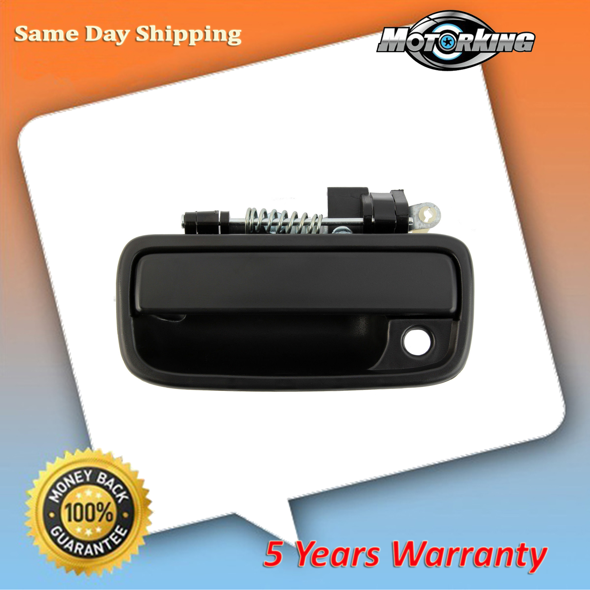 1995-2004 For Front Left Outside Door Handle Toyota Tacoma Plastic Base Black