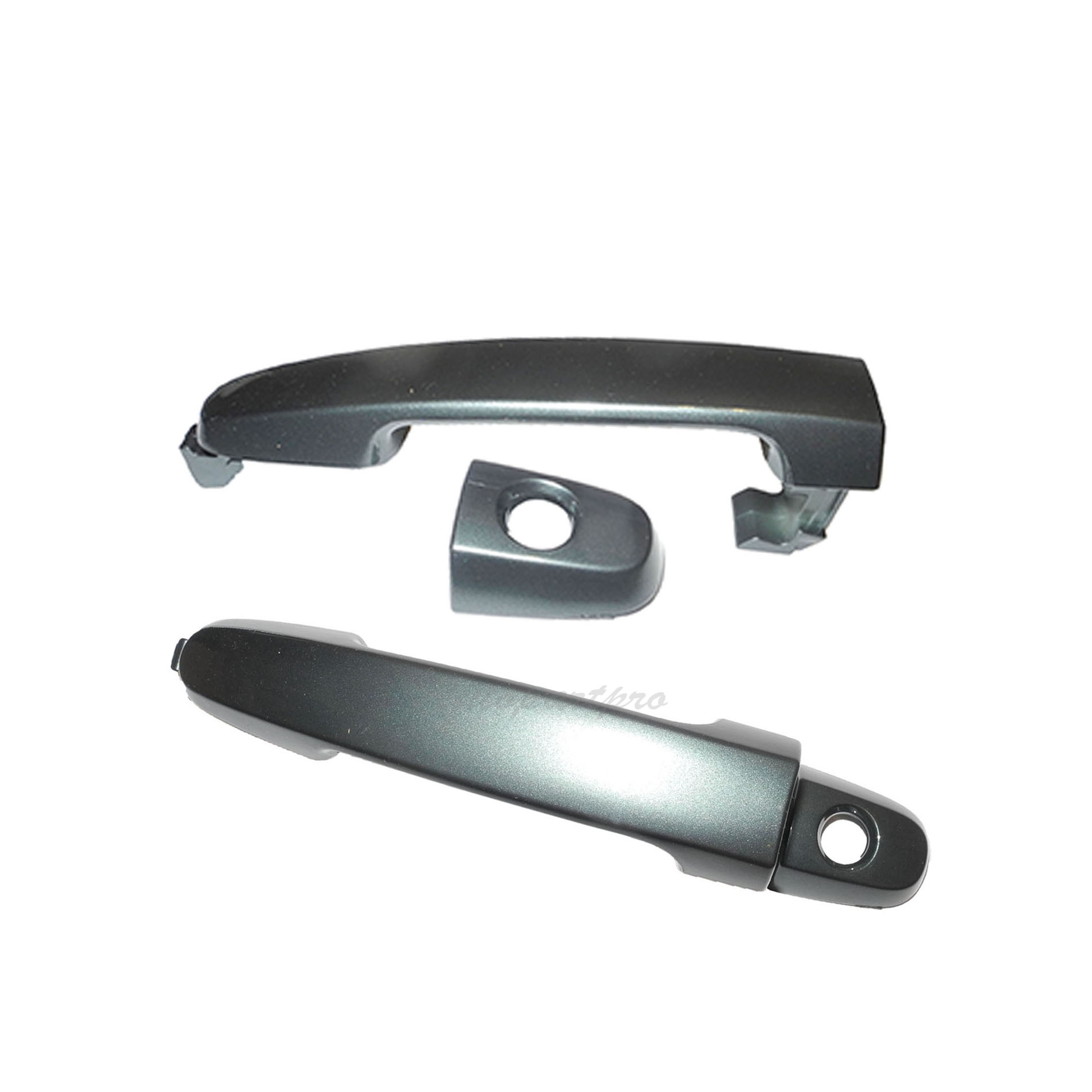 For 02-06 TOYOTA Camry Dark Green Mica 6S7 W//O Keyhole Rear Outer Door Handle