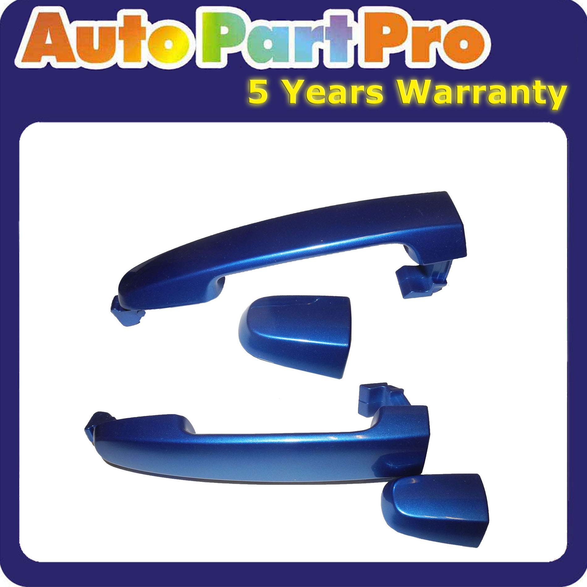 Rear Outer Door Handle For 02-06 TOYOTA Camry Blue Mica 8Q1 W//O Keyhole