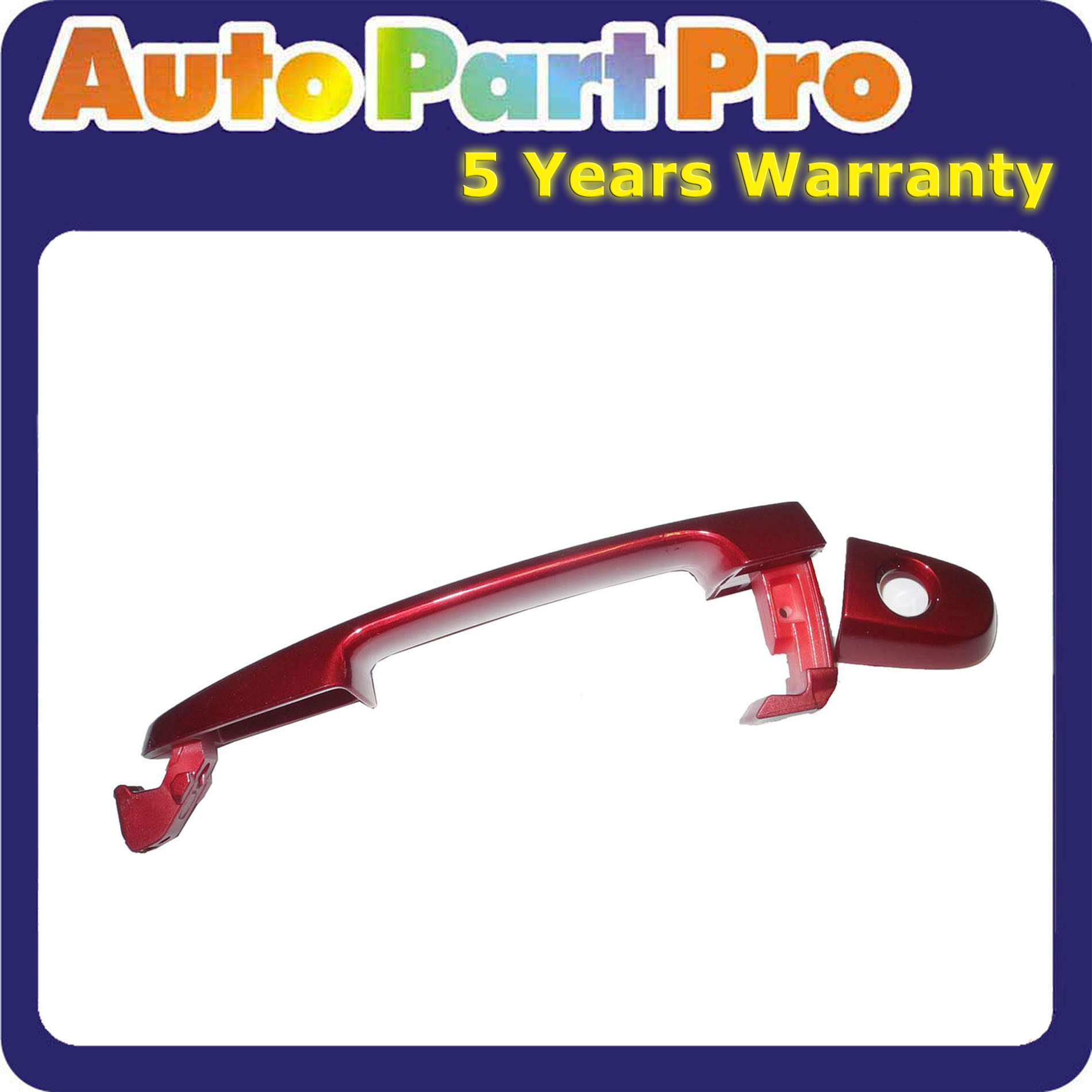 2002-2006 For Front Outside Door Handle TOYOTA Camry Red Mica 3M8