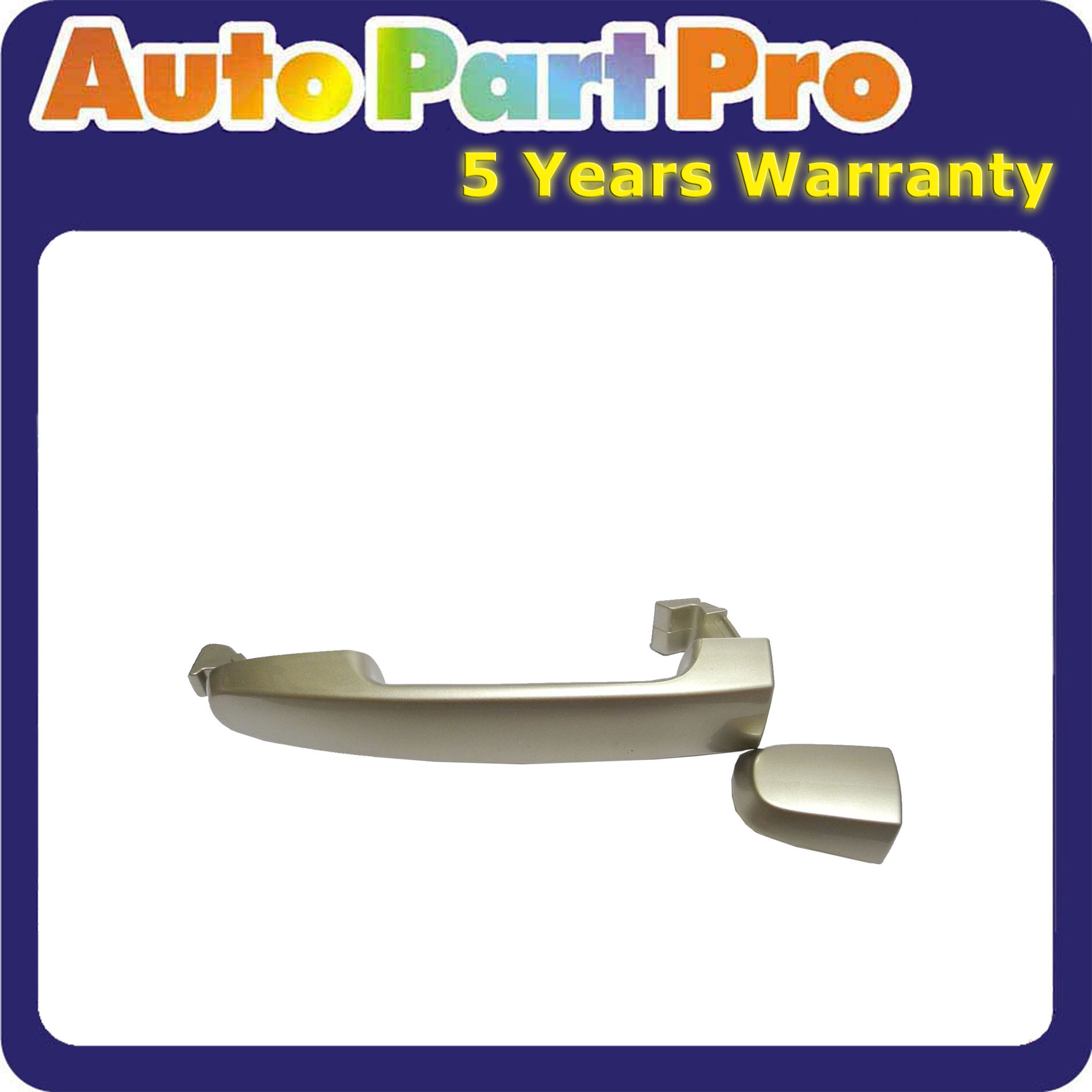 Front Outer Door Handle For 02-06 TOYOTA Camry Desert Sand Mica 4Q2