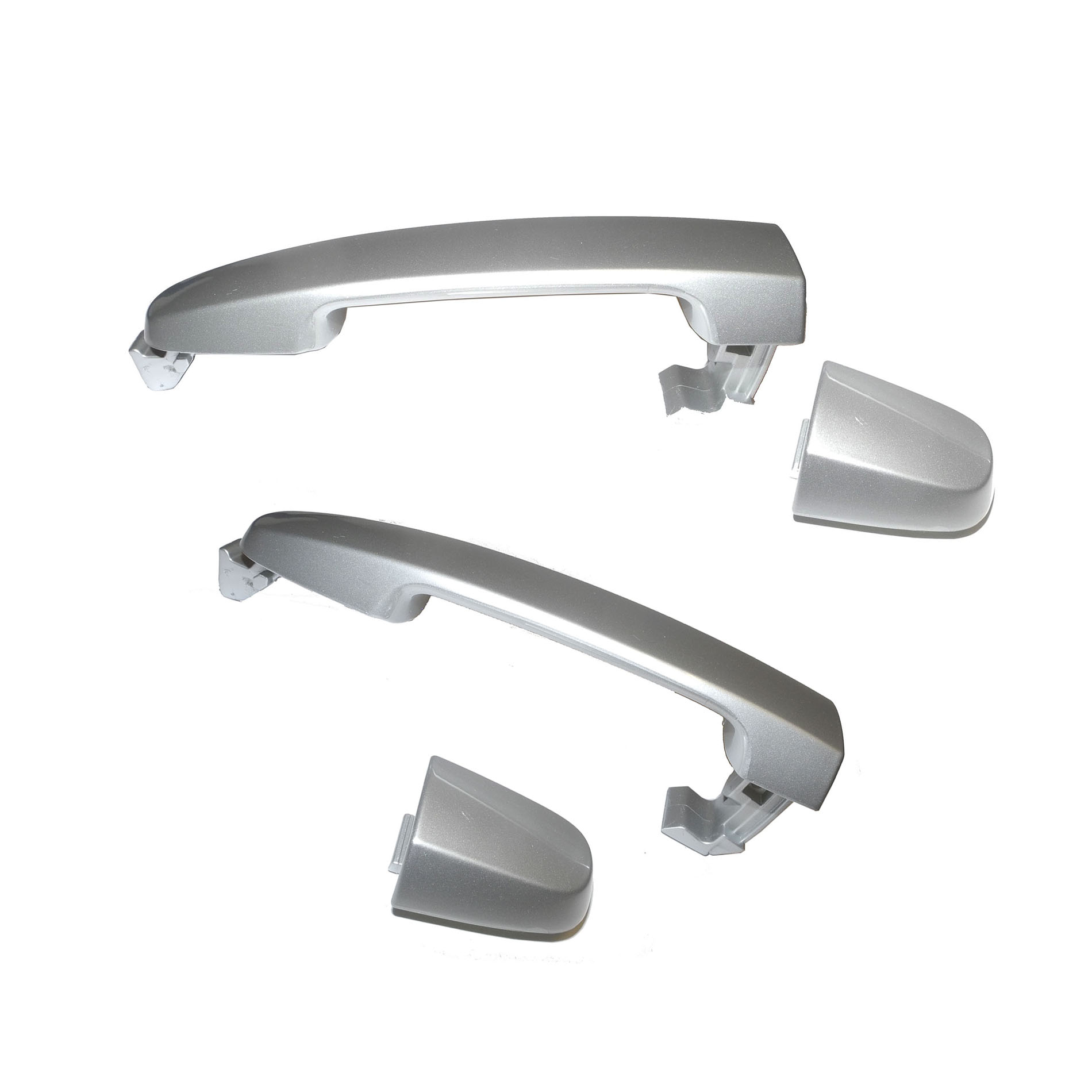 Outer Door Handle Rear For TOYOTA Camry Alpine Silver Metallic 199 DS523  02-06