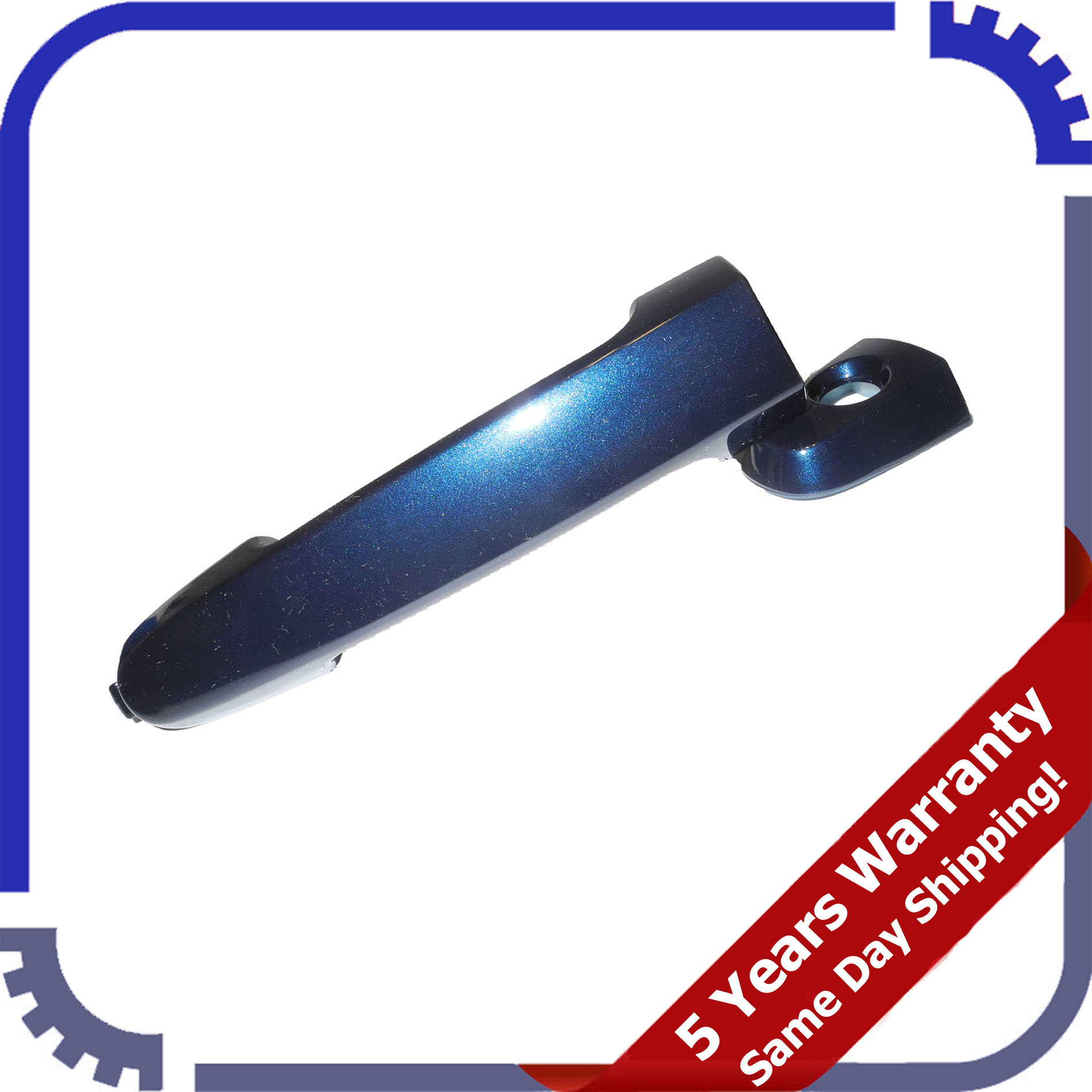 Outside Door Handle For 02-06 Camry Nautical Blue Metallic 8S6 DS524 Front